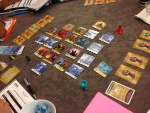 Playing Forbidden Island to help better understand cooperative game design..