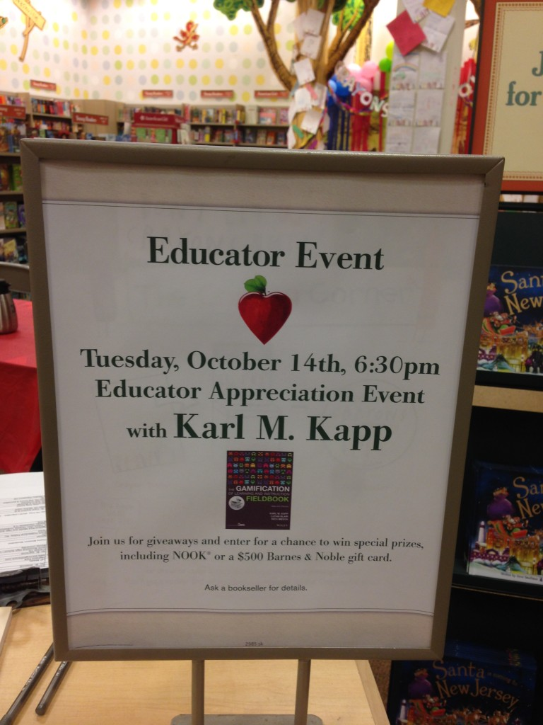 Gr8 time at Barnes & Noble last night.
