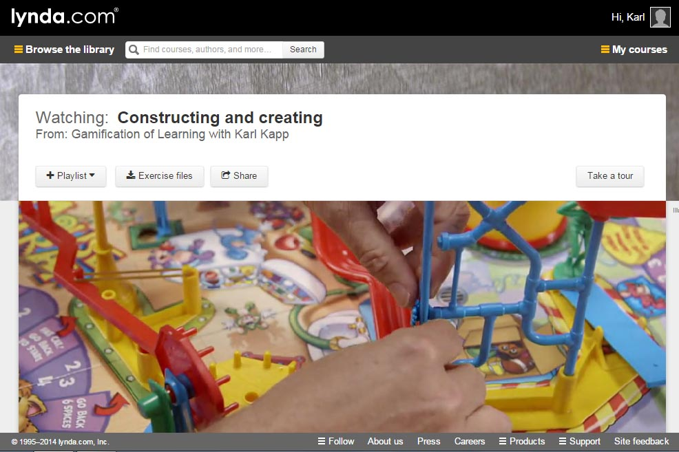 Gamification of Learning Lynda com Course Released « Karl Kapp